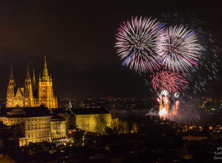 Praha - novoroční ohňostroj 2020 bude?