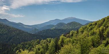 Havrania skala a výhled na Tatry