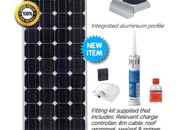 120w Solar Panel basic kit supply and Installation