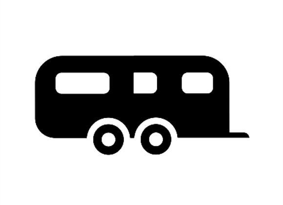 Twin Axle Caravan Service