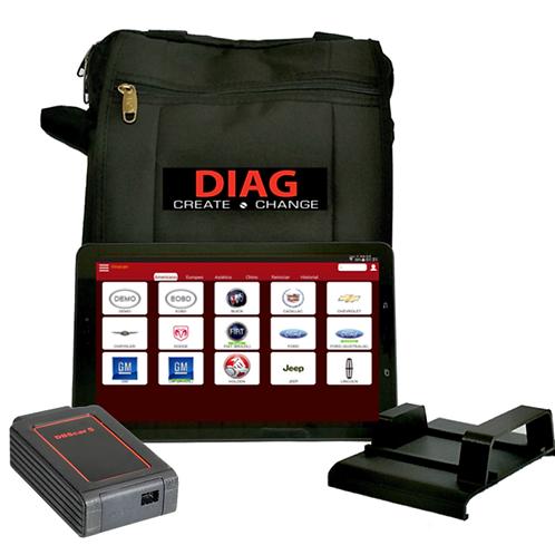 Scanner Automotriz Multimarca Auto Diagpro 3s 12 Y 24 Volts
