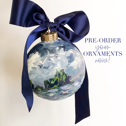 Hand Painted Ornament (pre-order)