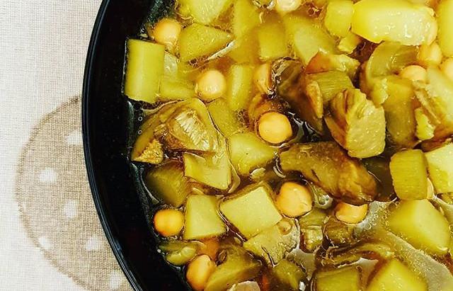Zuppa di carciofi