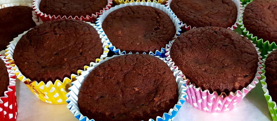 Muffins con carote e cioccolato!