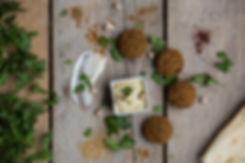 Falafel,Hummus