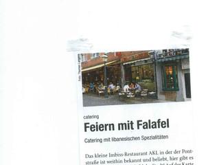 Akl im Klenkes: Feiern mit Falafel