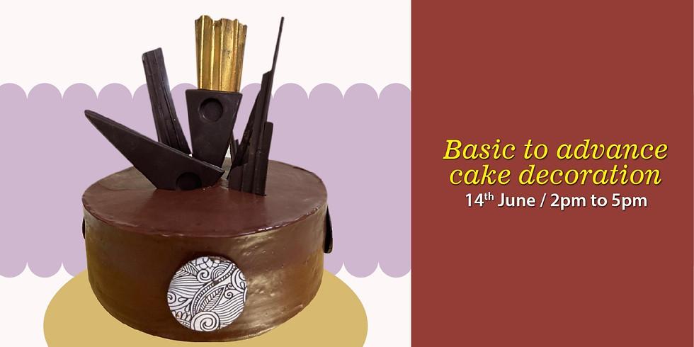 Online Basic to Advance Cake Decoration Workshop