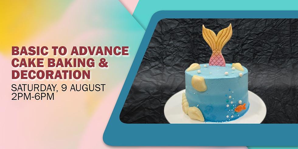 Online Basic to Advance Cake Baking & Decoration Workshop