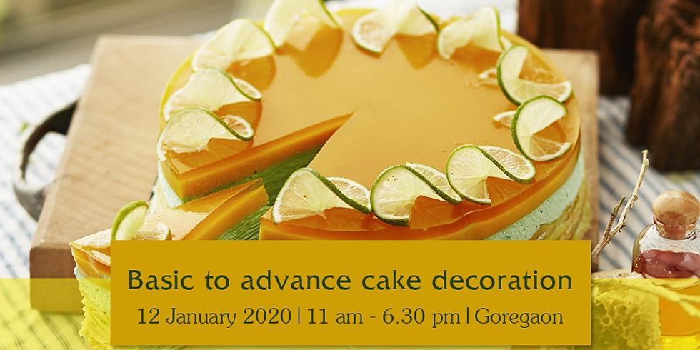 Basic to Advance Cake Decoration