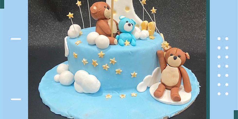 Fondant Cake Decoration
