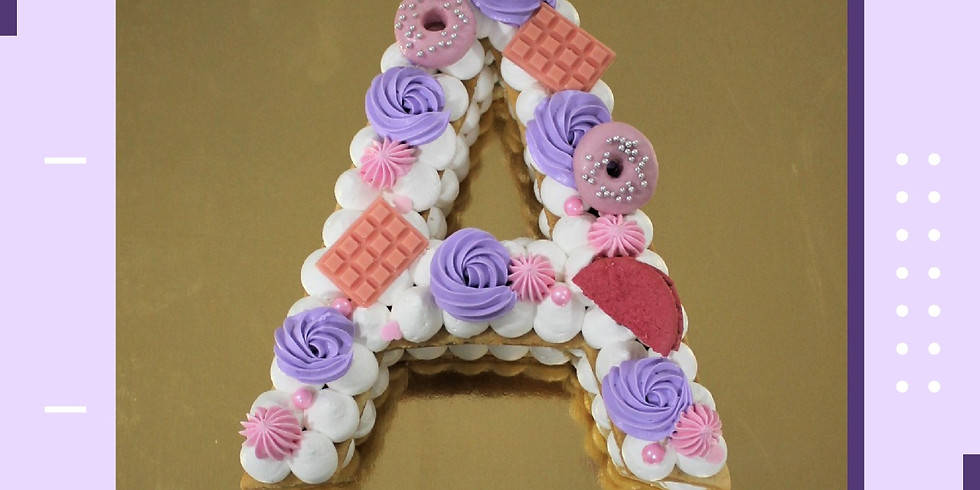 Monogram Cake Workshop