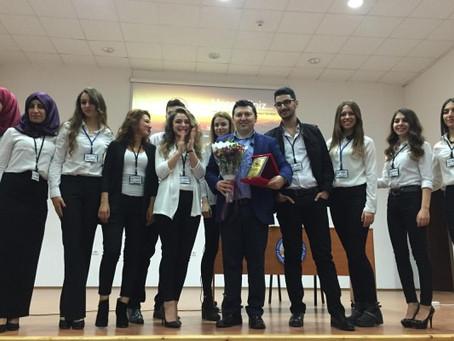 Trakya Üniversitesi Satış Eğitimi Ödülü