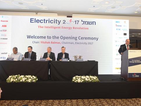 טקס הפתיחה של כינוס חשמל 2017