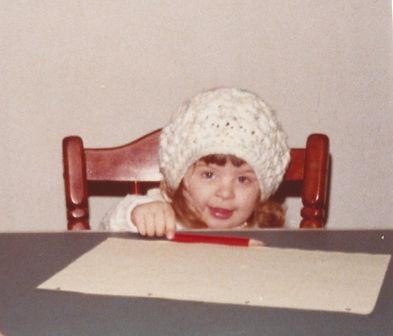 Sonja writing 1977 a - Copy.jpg
