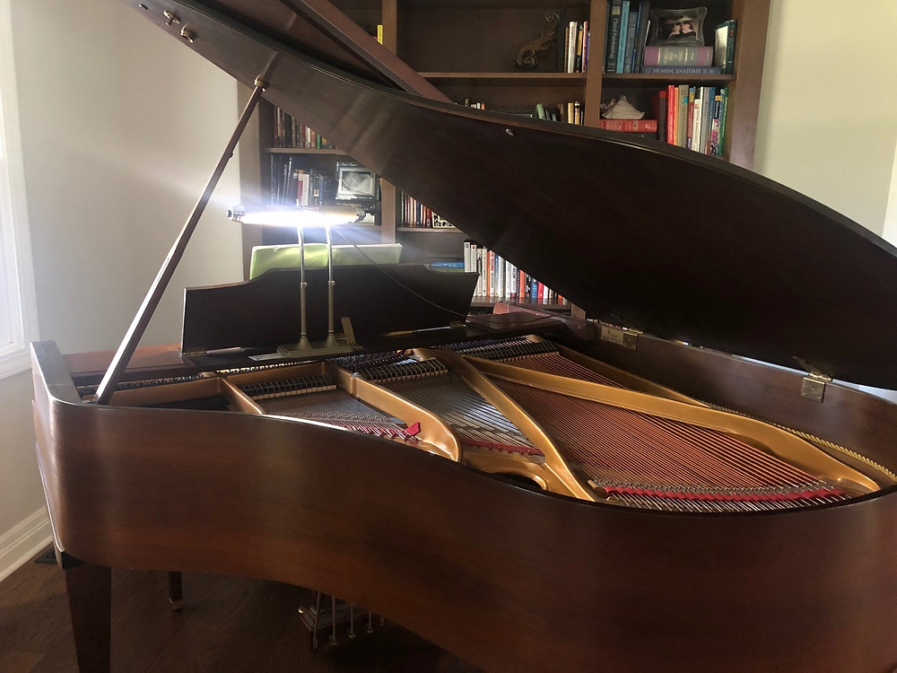 Gram's piano was a staple in her home for over 50 decades.