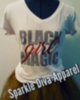 Black Girl Magic _Glitter White Tee_$25.jpg