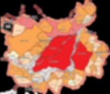 Ahuntsic-Cartierville Anjou Côte-des-Neiges–Notre-Dame-de-Grâce Lachine LaSalle Le Plateau-Mont-Royal Le Sud-Ouest L'Île-Bizard–Sainte-Geneviève Mercier–Hochelaga-Maisonneuve Montréal-Nord Outremont Pierrefonds-Roxboro Rivière-des-Prairies–Pointe-aux-Tremb