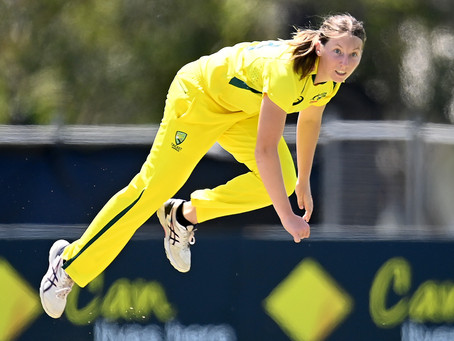 Record-breaker from Kapunda Darcie Brown on top of the cricketing world