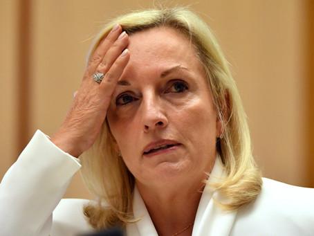 Christine Holgate throws grenades at Senate hearing