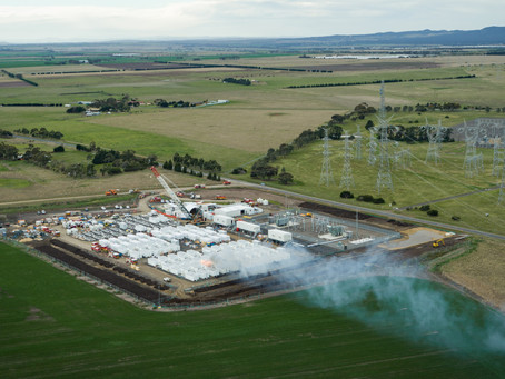Victoria's 'big battery' plans up in smoke