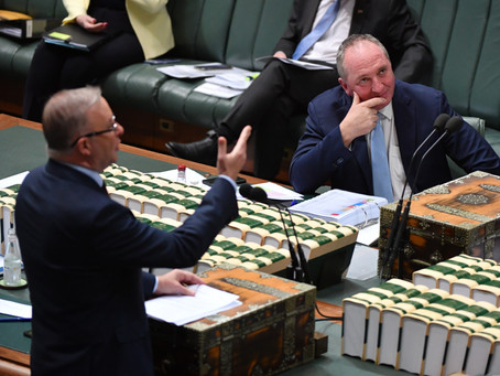 Barnaby may enter into coalition with Labor