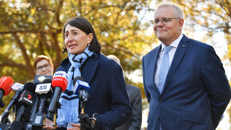 Gladys' approach could disrupt the federal election