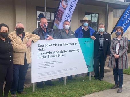 Sea Lake's state government spending splurge