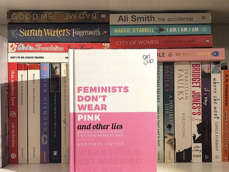 Book review: Feminists don't wear pink (and other lies). Curated by Scarlett Curtis.