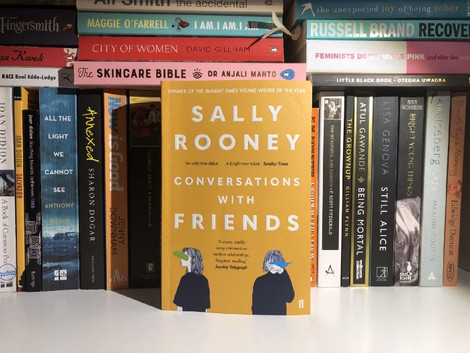 Book review: Conversations with friends by Sally Rooney