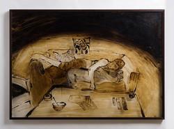 Tar Paintings | 2013 | ציורי זפת