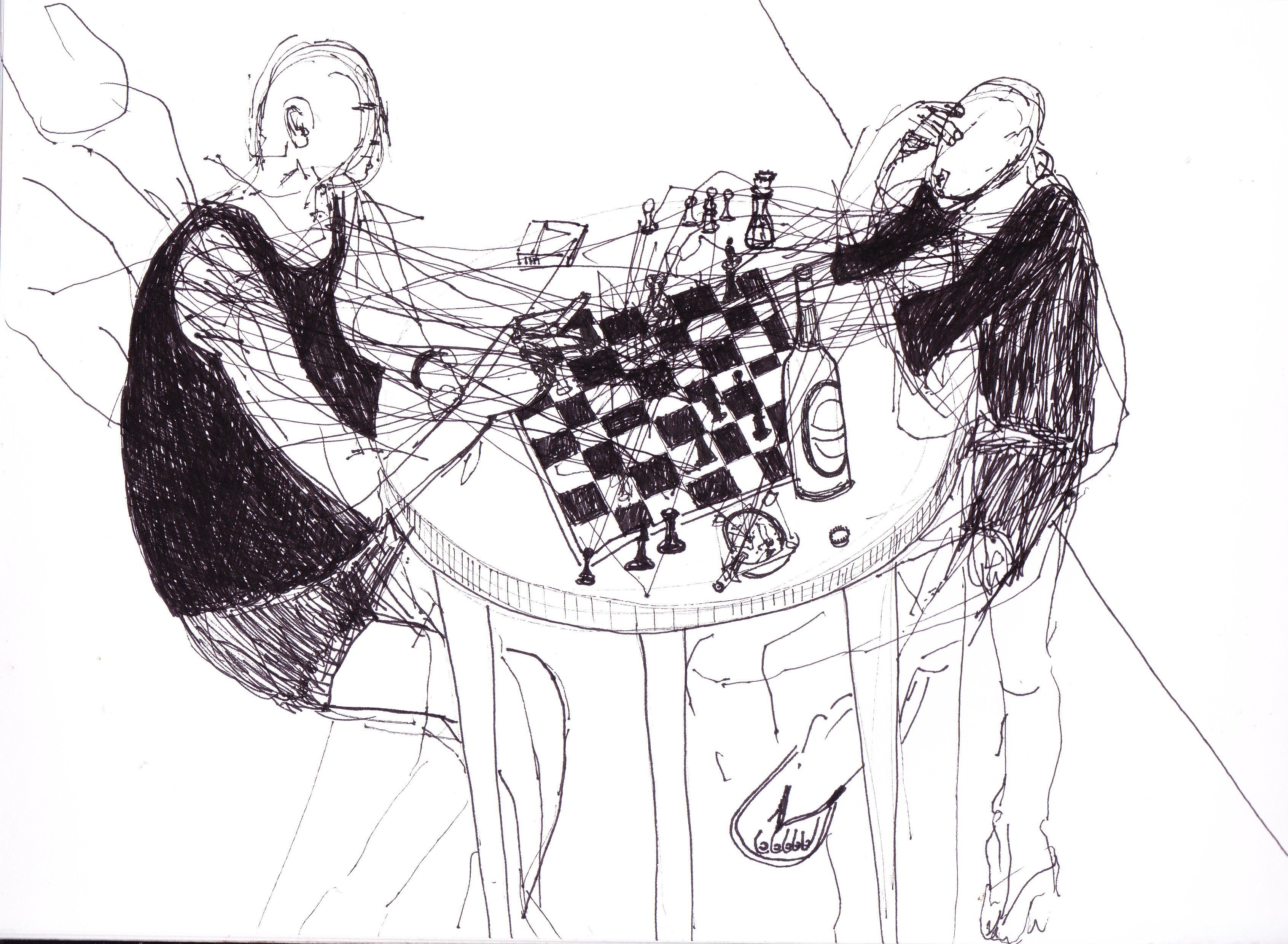 Chess Drawings | רישומי שח