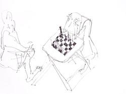 Chess Drawings | רישומי שח