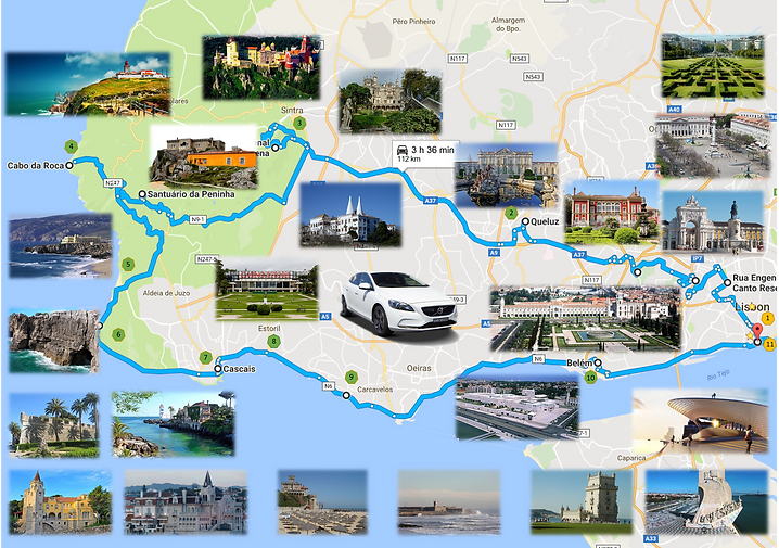SPRTours-Tours & Prices-Tours and Transfers in Lisbon, Sintra, Cascais