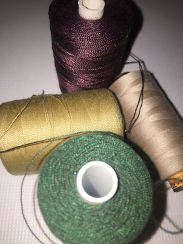 Upholstery threads