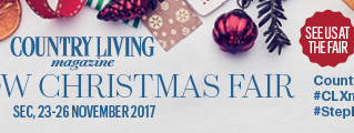We're going to be at the Christmas Country Living Fair in Glasgow!