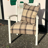 side chair in Moon check
