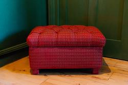 Upholstered box