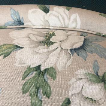 Laura Ashley fabric Upholstered Headboard