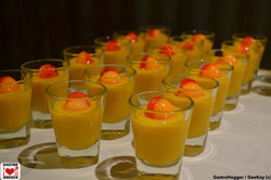 Trio Melon Mango Pudding