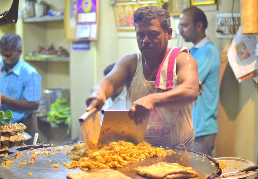 Ashok Mutton Stall - Kothu Parotta