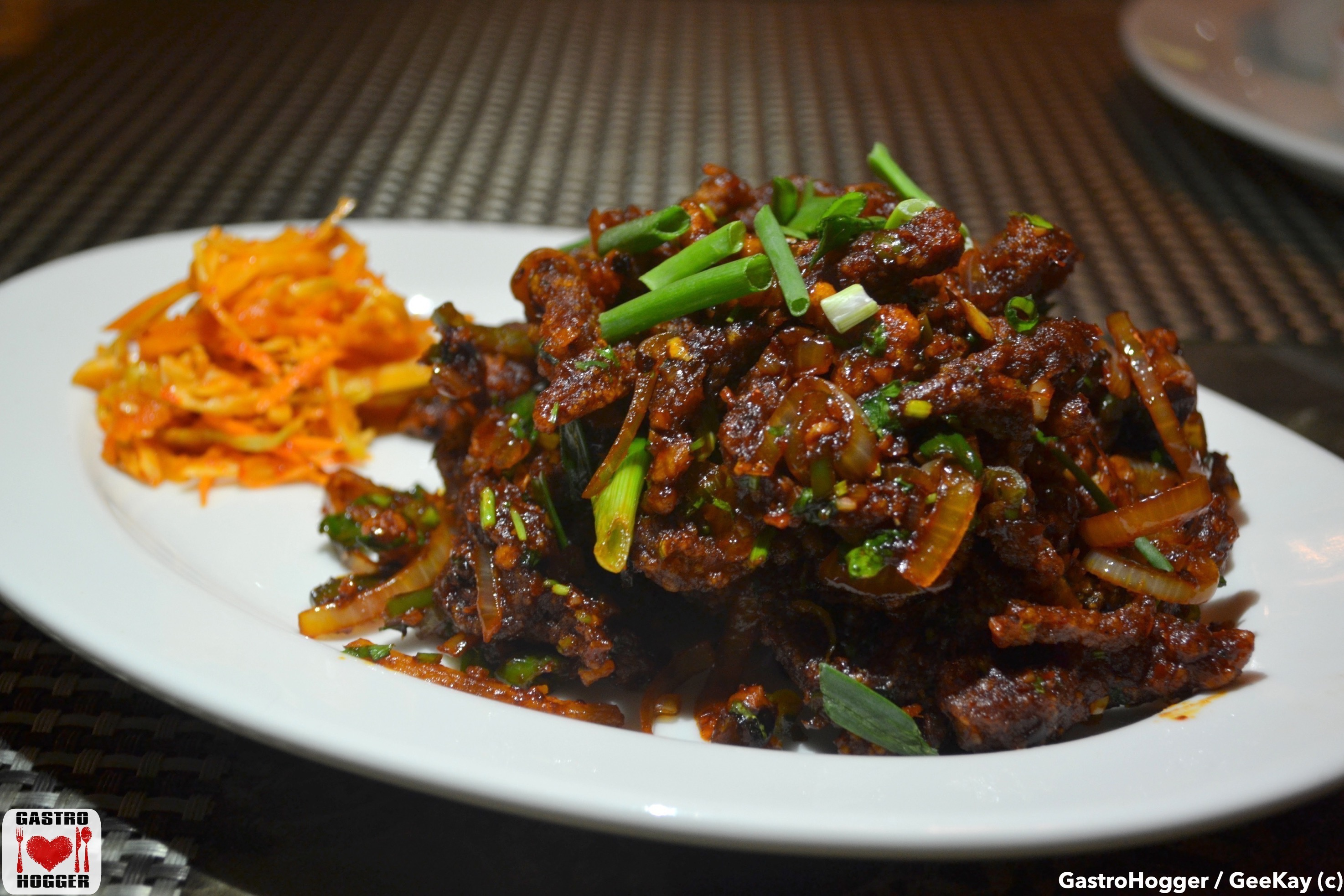 Mongolian Spicy Lamb