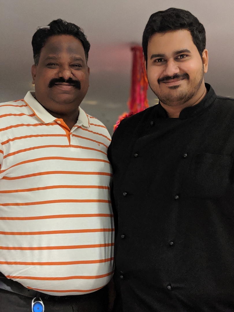 One with Chef Vignesh