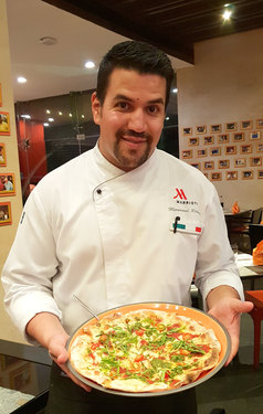 Chef Marouane Rahali from Courtyard Marriot