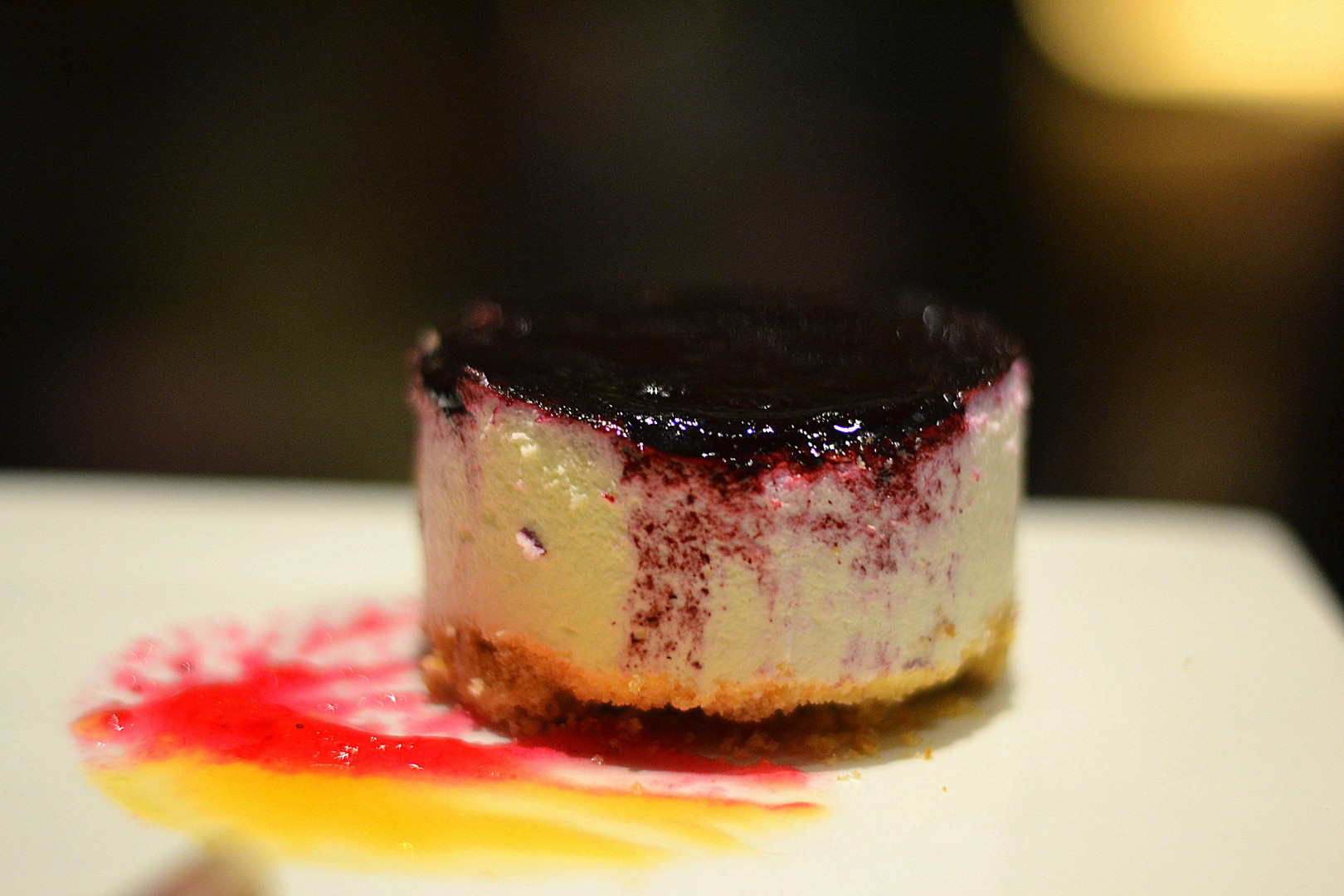 BLUBEERRY CHEESE CAKE