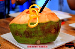 Coconut Orange infusion