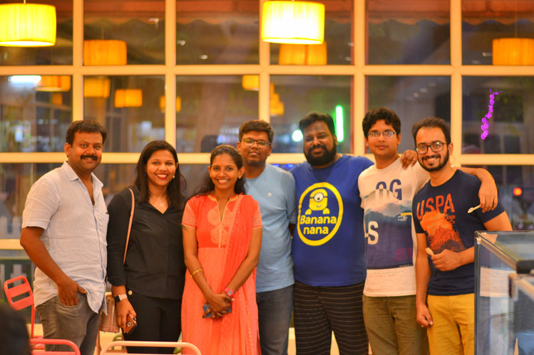 US with Foodies Day out & Vichitra (Puppy's Bakery)