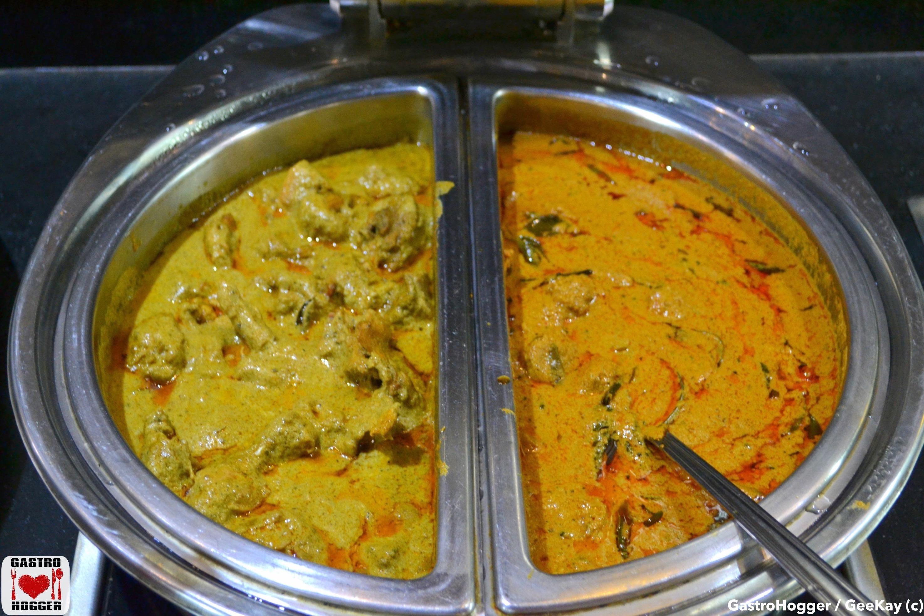 Murgh Kaliyan & Prawns curry