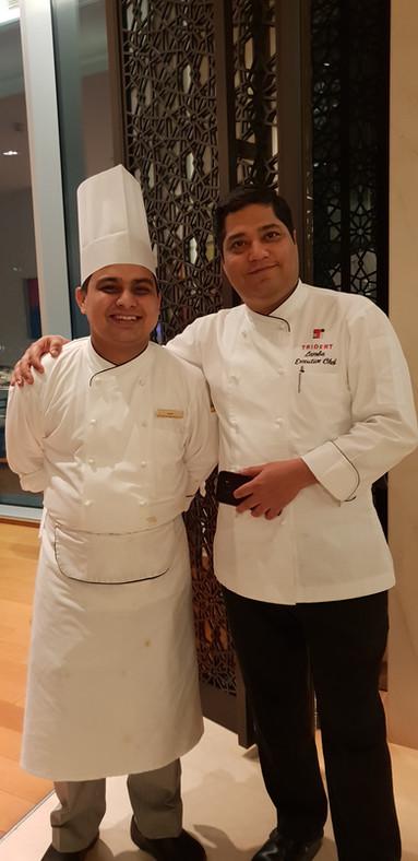 Chef Dharmendar and Chef Vijay