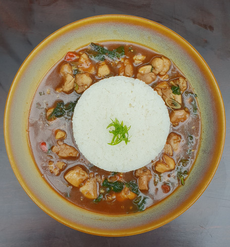 Chicken in Chilli Basil