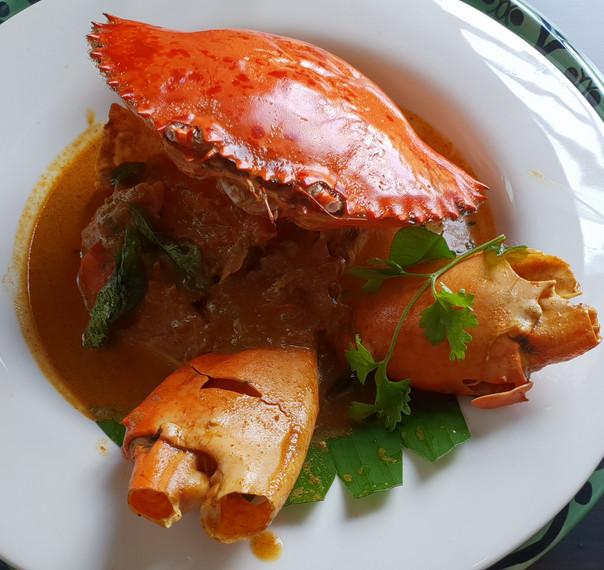 Crab Chettinad